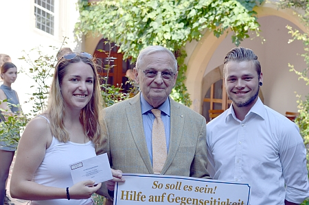 Hilterhaus-Stiftung unterstützt Fachschaft